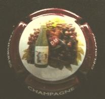 (dch-086) CAPSULE-CHAMPAGNE    Delouvin - Moreau  (red-rouge-rood) - Non Classés