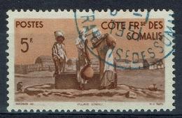 French Somali Coast, 5f., Village And Well, 1947, VFU - Costa Francesa De Somalia (1894-1967)