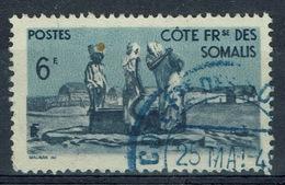 French Somali Coast, 6f., Village And Well, 1947, VFU - Costa Francesa De Somalia (1894-1967)