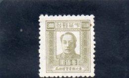 REPUBLIQUE POPULAIRE 1949 SANS GOMME - China
