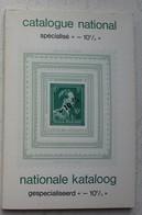 Livre Catalogue National Spécialié Valeur -10% Timbre Zegel Belgique Belgïe - Belgium