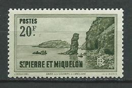 SAINT PIERRE ET MIQUELON 1938 . N° 188 . Neuf ** (MNH) . - St.Pierre Et Miquelon
