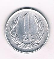 1 ZLOTY 1966  POLEN  /8929/ - Polen