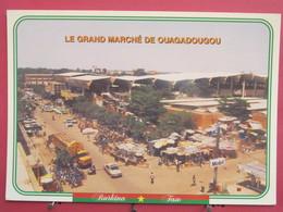 Visuel Très Peu Courant - Burkina Faso - Le Grand Marché De Ouagadougou - Scans Recto Verso - Burkina Faso