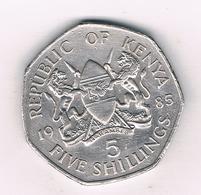 5 SHILLINGS   1985  KENIA /8931/ - Kenya