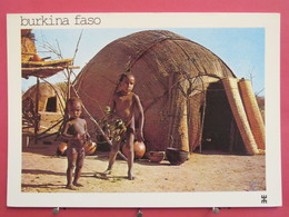 Burkina Faso - Près De Dori - Province Du Seno - Enfants Peulh Djelgobé - Scans Recto Verso - Burkina Faso