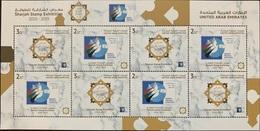 UAE 2019 New MNH Complete Sheet S/S - Sharjah Philatelic Exposition - Emiratos Árabes Unidos