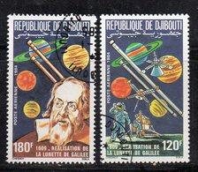 XP3843 - GIBUTI 1984, Posta Aerea Usata Con Gomma (2380A) Galileo - Atletica