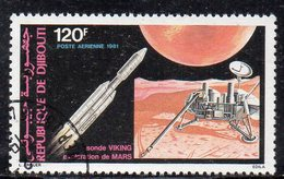 XP3839 - GIBUTI 1981, Posta Aerea Usata (2380A) Viking - Gibuti (1977-...)