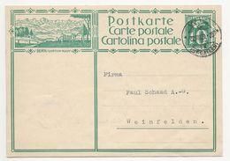 """Schweiz Suisse 1929: Bild-PK CPI """"BERN / GURTEN-KULM"""" Mit Stempel WIL 22.VIII.29 (ST.GALLEN) Nach Weinfelden - Interi Postali"""