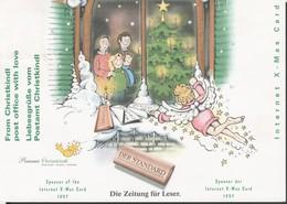 Österreich 1997: Christkindl-Beleg V. 28.11.1997 Sponsor Der Internet X-Mas Card - 1945-.... 2. Republik