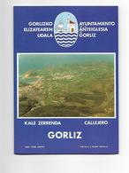 MAPA De GORLIZ - PAIS VASCO - EUSKADI - PAYS BASQUE - Dépliants Touristiques