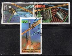 XP3911 - GIBUTI 1981, Posta Aerea Usata (2380A) Ariane - Gibuti (1977-...)