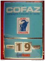POC1     056     P0595  AUBY. 34x24  COFAZ  GAULOIS AZOTE KANIFRANCE  Par GERRER MULHOUSE 1975 PLEXIGLASS INDUSTRIE - Plaques Publicitaires