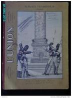 POC1    008    Fort Carton   ASSURANCES  .9 PLACE VENDOME PARIS  31 X 23  HUSSARDS  .BON ETAT . - Placas De Cartón