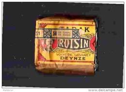 TAC1     308   ETUI  DES  CIGARETTES . .ROISIN    .VAN DER CRUYS  DEYNZ     BELGIQUE ....  Années  30/ 40 - Etuis à Cigarettes Vides