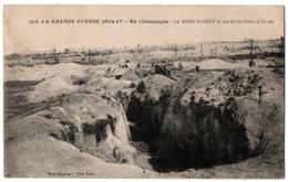 CPA 51 - Le BOIS SABOT (Marne) - 1312. Les Tranchées D'accès (guerre 1914-1917) - France