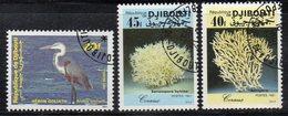 XP3996 - GIBUTI 1991, Tre Valori Usati (2380A) - Gibuti (1977-...)
