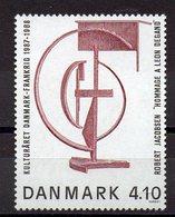 DANEMARK  Timbre Neuf **   De  1985 ( Ref 1225 G ) Art - Sculpture - Nuovi