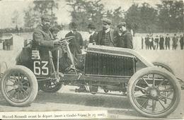 Sport Automobile - Marcel RENAULT Avant Le Départ (mort à Couhé-Vérac Le 27 Mai - Other