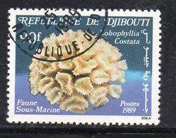 XP4020 - GIBUTI 1989, Fauna Sottomarina Usata (2380A) - Gibuti (1977-...)