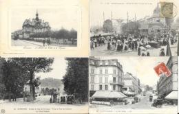 Lot N° 99 - 100 Cartes Du Département Seine-et-Oise (Hauts De Seine 92) - Villes, Villages, Parcs, Quelques Animations - Cartoline
