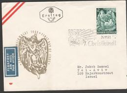 Österrreich 1963: Christkindl-Brief V. 29.11.1963 UZ 6( S. Foto) - 1945-.... 2. Republik