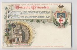 MEMENTO JERUSALEM - 1903 - Blason De Jérusalem - Israël - Israel