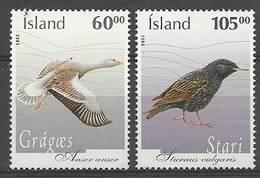 Iceland 2005 Mi 1111-1112 MNH ( ZE3 ICL1111-1112 ) - Gansos