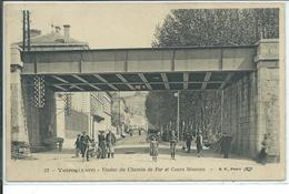 Voiron-Viaduc Du Chemin De Fer Et Cours Sénozan - Autres Communes