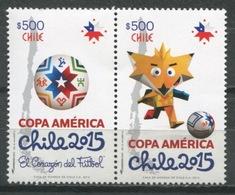 Chile 2015 / Football Soccer America Cup MNH Futbol / Cu9309  36-16 - Fußball-Amerikameisterschaft