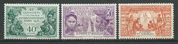 SAINT PIERRE ET MIQUELON 1931 . N°s 132 , 133 Et 134 . Neufs ** (MNH) . - St.Pierre Et Miquelon