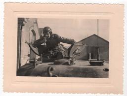 Photo Originale Char Tank WWII Angoulême 15 Février 1945 - Guerre, Militaire