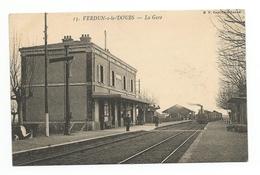 Verdun-sur-le-Doubs - La Gare - France