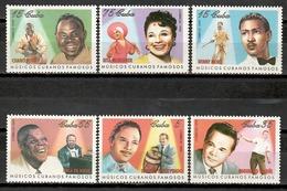 Cuba 1999 / Music Cuban Musicians Famous People MNH Musik Musica Músicos / Cu11627  C1-3 - Musica