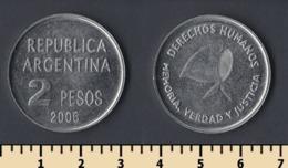Argentina 2 Pesos 2006 - Argentine