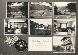 VAL PUSTERIA FALZES PUSTERTAL PFALZEN CAFè EDY PENSION VEDUTINE A.1960 VIAGGIATA - Bolzano (Bozen)