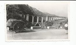 Photographie 66 Pont Séjourné 1949 Charette Foin    Photo 6,7x11 Cm Env - Orte