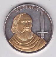 Medaille 2007 The 12 Apostles – Matthew - Les 12 Apôtres - Matthieu - Etats-Unis