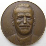 Medaille Docteur  Paul Cantaloube – Epidémie De Fièvre De Malte. Sumène St Martial 1920 , Par Calvet - Otros