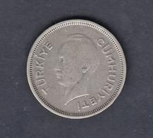 @Y@  Turkije   1 Lira  1941   Y86    (4775) - Turkey