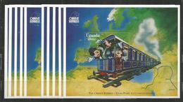 10x UGANDA  -  MNH - Walt Disney - Disney