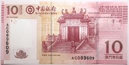 Macao - 10 Patacas - 2013 - PICK 108b - NEUF - Macao