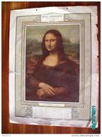 CAL290   CALENDRIER 1909. LA  JOCONDE  VETEMENTS  BELLE  JARDINIERE 43 X 32 Imp MALHERBE  MAISON De PARIS  MARSEILLE  . - Calendari