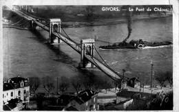 69 - Givors - Le Pont De Chasse -Péeniche à Vapeur, Inclinant Sa Cheminée - Givors