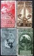 Francobolli Italia Regno 1911 - 50° Anniversario Del Regno D'Italia - Usati - Italien