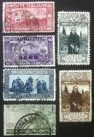 Francobolli Italia Regno 1916 - 7° Centenario Morte Di San Francesco - 6 Usati - Italien