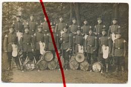 Original Foto - Sarrebourg Saarburg - Militärkapelle Musikzug - Ca. 1914 - Sarrebourg