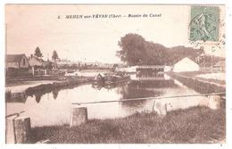 Péniches à Mehun Sur Yèvre (18 - Cher)  Bassin Du Canal - Arken