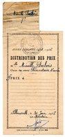 Distribution Des Prix 9ème Prix Cours élementaire 2è Année Villemomble 1956 - Diplomas Y Calificaciones Escolares